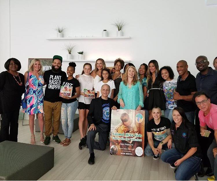 """""""Animal Hero Kids Voices for the Voiceless"""" Book Benefit was a Blast!"""