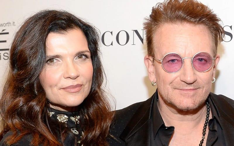 Bono and Ali Hewson