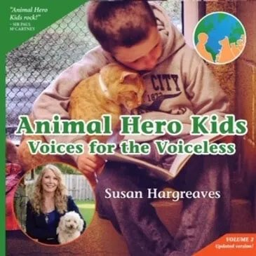 Image of book cover for Animal Hero Kids