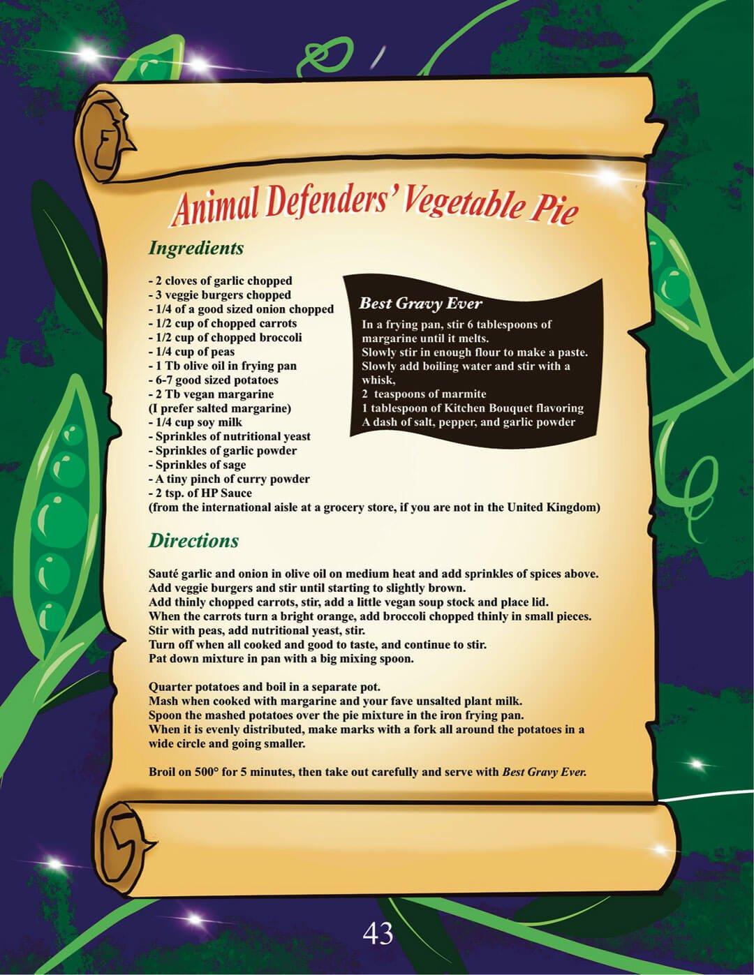 Image of recipe for Vegan vegetable pie