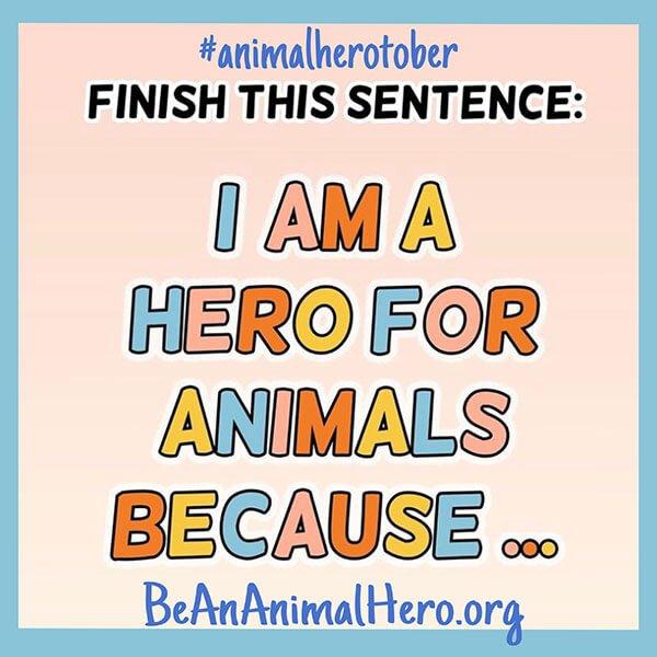 AnimalHerotober – 8 Ways to Participate